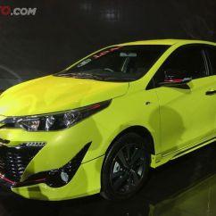 Harga New Toyota Yaris Trd 2018 Kompresi Grand Avanza 2016 Baru Tampian Dan Fitur Specifikasi Nya