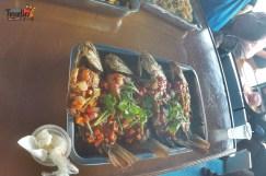 Island Hopping in Phuket - Fresh Fish Fry in the Buffet