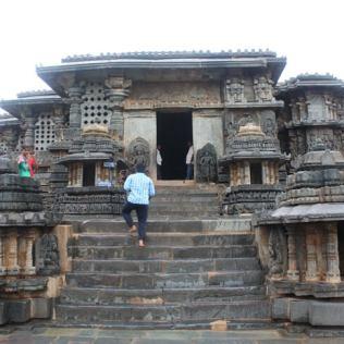 Places to visit around Chikmagalur - Hoysaleswara Temple, Halebidu - View 5