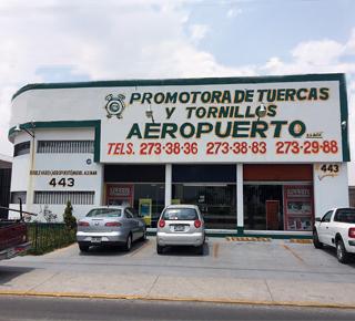 Sucursal Aeropuerto de Promotora de Tuercas y Tornillos S.A. de C.V.