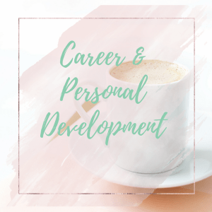 prompt journal - career and personal development
