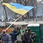 Violenţe în faţa Parlamentului ucrainean