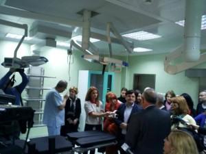 spitalul Floreasca - arsi
