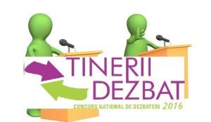 """Concursul Naţional """"Tinerii Dezbat"""""""