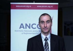 Eduard Lovin, director executiv de reglementare ANCOM