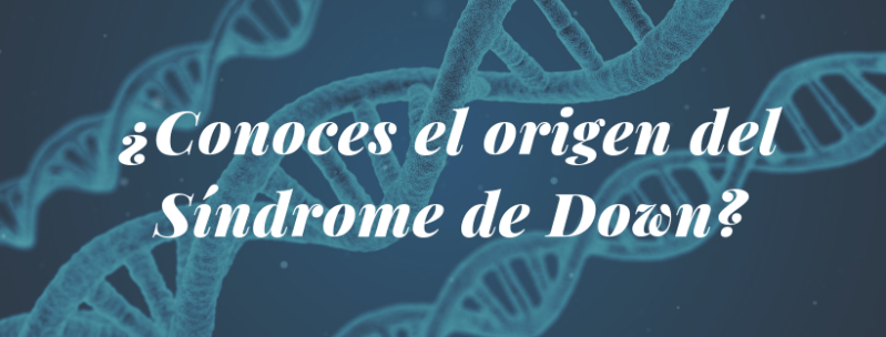¿Conoces el origen del Síndrome de Down?