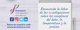Reconocida la labor de las investigaciones sobre los receptores del dolor, la temperatura y la presión