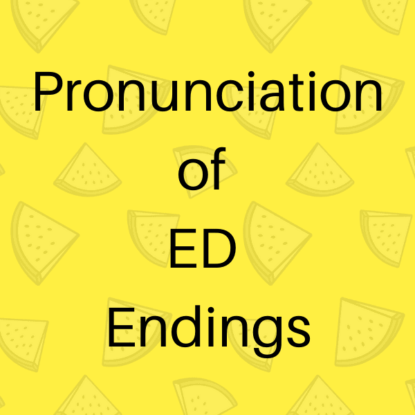 Advanced Pronunciation Test Pronunciation Help
