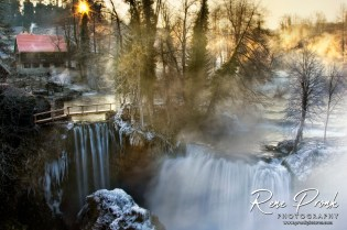 Rastoke winter