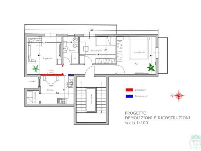 Pronto Casa: Appartamento 4 locali a Ragusa in Vendita a Ragusa Foto 1