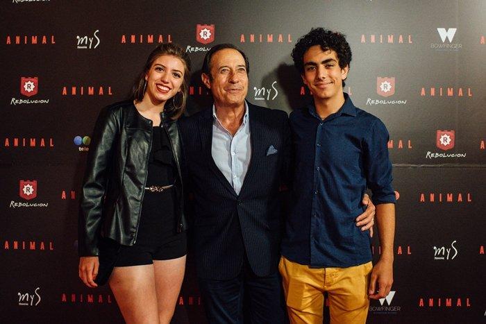 María José Chicar, Guillermo Francella y Joaquin Flammini