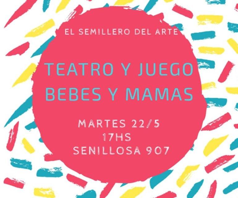 teatro bebes y mamás