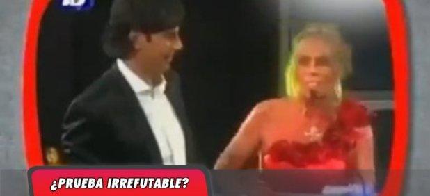 Polémica: Resurgió un video en el que Darthés toca a una conductora en plena entrega de premios