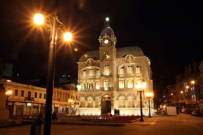 Paço Municipal - Curitiba. Foto: Orlando Kissner/SMCS