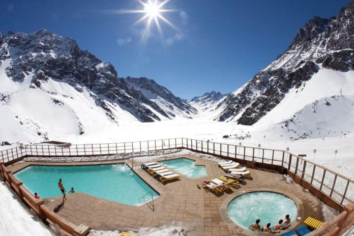 Estação de esqui - Portillo no Chile