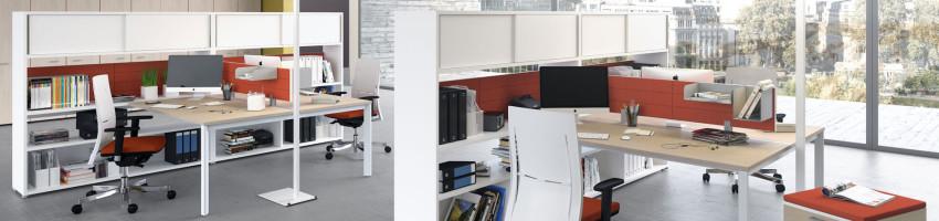 Oxi gestisce lo spazio secondo le esigenze di ogni operatore e le necessità di ogni tipo di lavoro. Le Novita Per L Ufficio Di Las Mobili Prontufficio