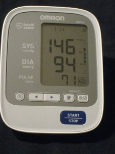 blood pressure day 11