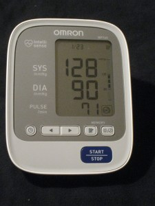 blood pressure day 23