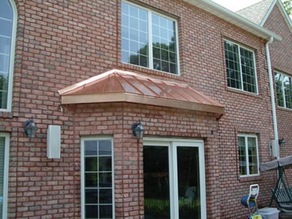 Window Roofs & Copper Window Roofs