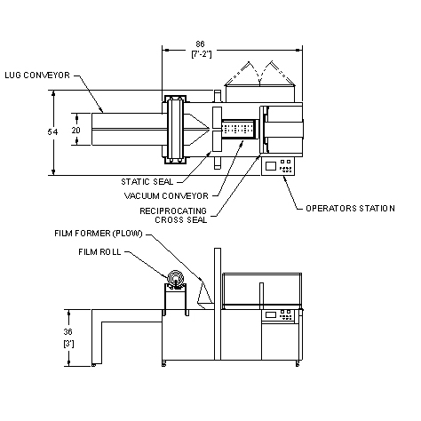 Arpac HC37 Continuous-Motion Horizontal Shrink Wrapper