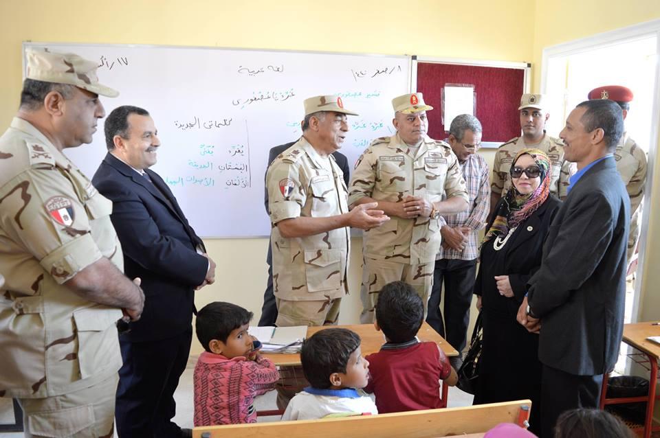 """نتيجة بحث الصور عن """"القوات المسلحة"""" تفتتح مدرستين بجنوب سيناء لخدمة التجمعات البدوية والنائية"""