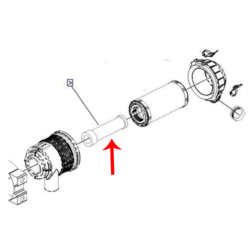 98-2747 Toro Dingo 220 LH Tire & Wheel Assembly