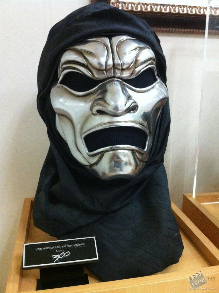 Immortal Hero Mask and Headwrap Set Movie Prop from 300