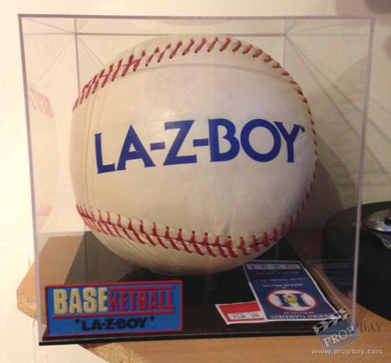Joe Coop Cooper Trey Parker LAZBOY Ball Movie Prop