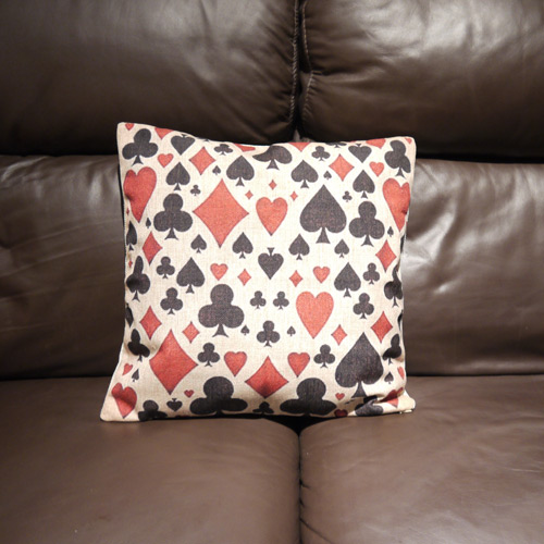Playing Card Cushion Covers