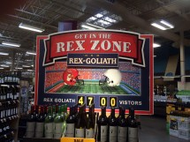 Wine Displays Grocery Store