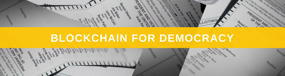 10 Novel Uses for the Blockchain Propelx Democracy
