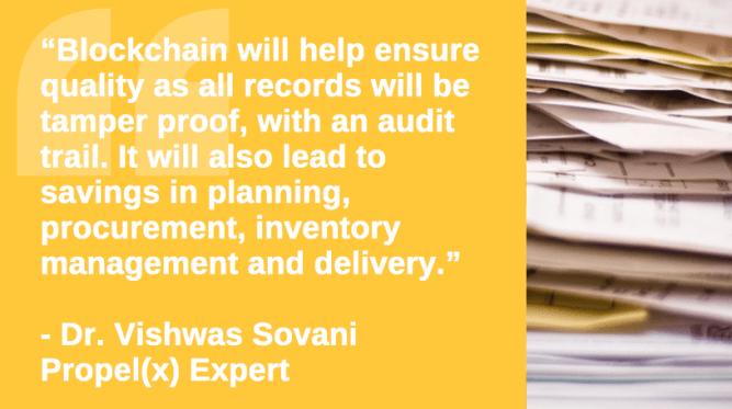 Blockchain Vishwas Sovani