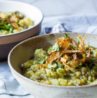 Green Chermoula Stew