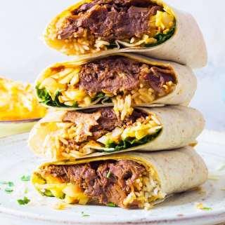 Beef Brisket Burrito