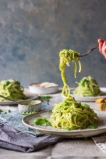 8 summer spaghetti with peas and parmesan