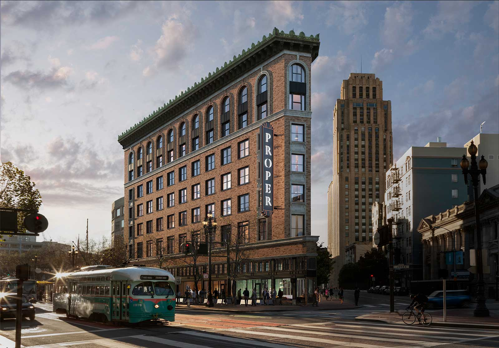 San Francisco Proper  Luxury Hotel on Market Street San