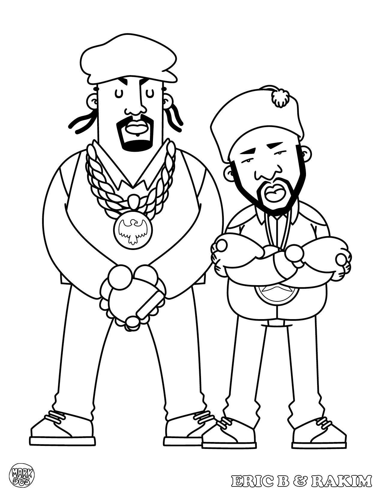 Hip Hop Coloring Pages Sketch Coloring Page