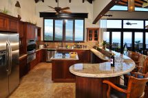Ocean View Residence With Pool Dominical Id Code #1578