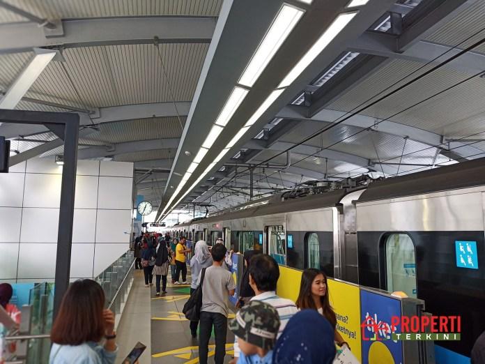 jumlah penumpang MRT Jakarta