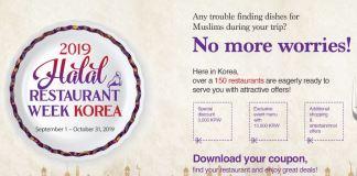 Halal Restaurant Week Korea 2019