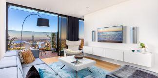 penthouse mewah di Skye by Crown