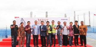 topping off Apartemen West Senayan di Kota Tangerang