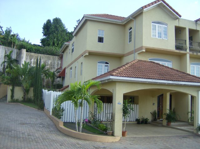 Townhouse For Sale in Cherry Gardens Kingston  St Andrew Jamaica  PropertyAds Jamaica