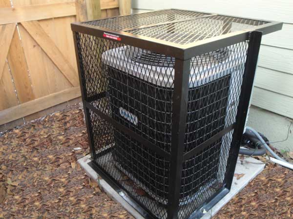 air conditioner cage nissan x trail wiring diagram p1 rigid ac cage, pro series cages | property armor