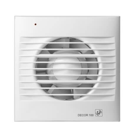 bathroom humidity sensor extractor fan decor series 100 ch
