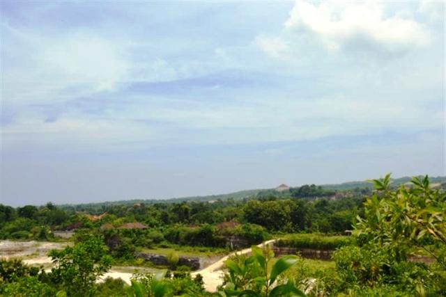 Land for sale in Jimbaran Bali Ocean view  in Jimbaran