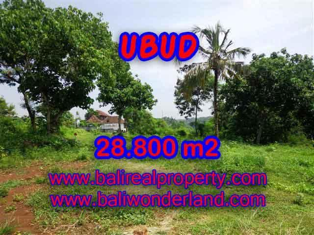 Land for sale in Bali, exceptional view in Gianyar – TJUB366