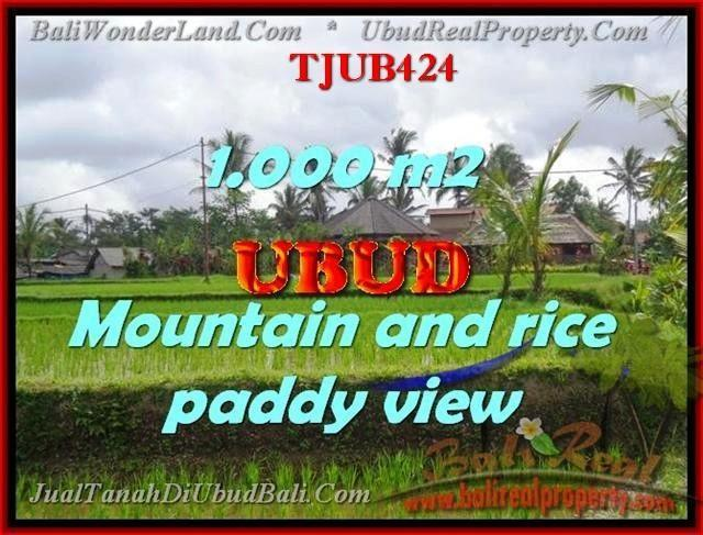 FOR SALE Exotic 1,000 m2 LAND IN UBUD TJUB424