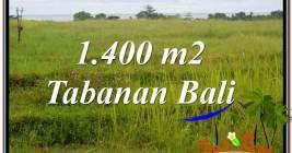 FOR SALE Beautiful 1,400 m2 LAND IN TABANAN TJTB309