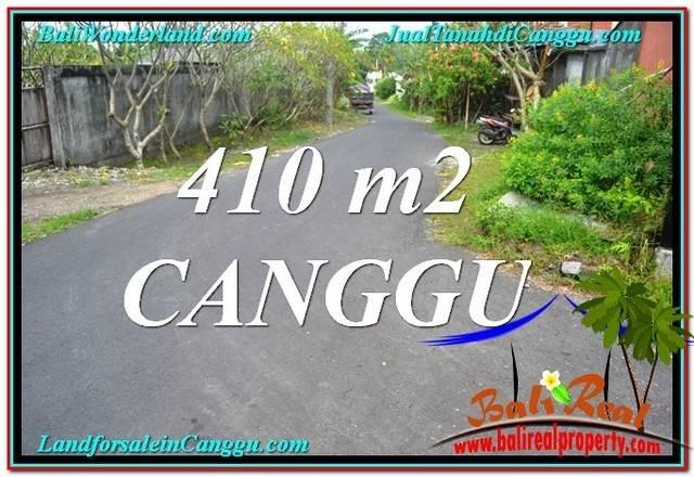 Canggu Pererenan 410 m2 LAND FOR SALE TJCG216
